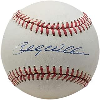 billy williams signed baseball