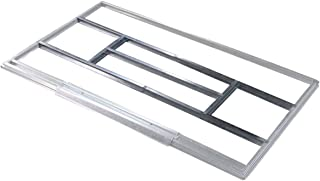 Gardiun KIS14005 - Estructura metálica para preinstalación de suelo casetas de 2,4 m2