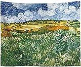 Yhjdcc Tapestry Van Gogh malerei ?lgem?lde h?ngen Tuch Wand dekorative Tuch Hintergr& Tuch Sofa Handtuch Strand Handtuch tischdecke 150cm x 200 cm