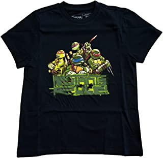 T-shirt 'Teenage Mutant Ninja Turtles' - Mutants Rule - Enfant - Taglia 152/158 - [Edizione: Francia]