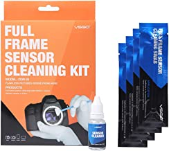 UES VSGO Full-Frame (CCD/CMOS) Digital Camera Sensor Cleaning Swab DDR-24 Type 3 Kit (Box of 12 X 24mm Swab + 15ml Sensor Cleaner)