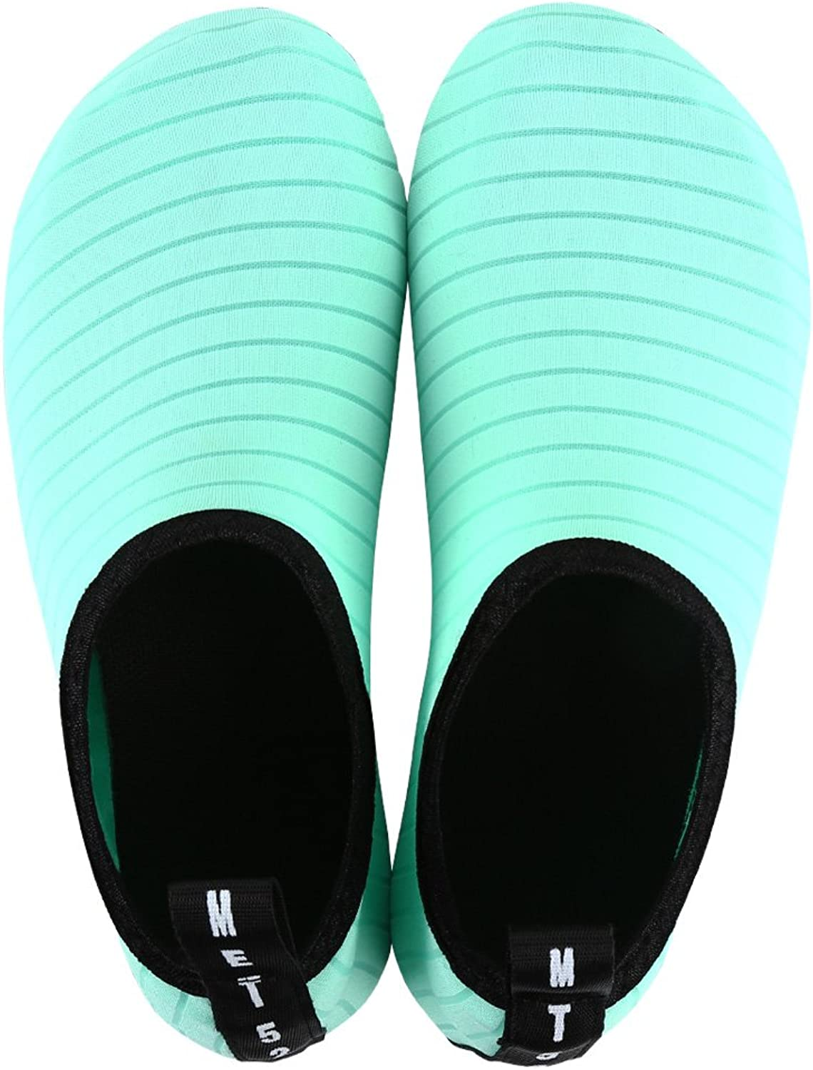 MANYITE Lightweight Water Sports shoes for Womens Mens Barefoot shoes Quick-Dry Aqua Socks for Beach Swim Surf