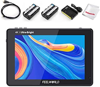 FEELWORLD LUT7 7 Inch 2200nit Daylight Viewable Touch Screen DSLR Camera Video Field Monitor, 3D Lut 1920x1200 with 4K HDM...