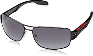 Linea Rossa Men's PS 53NS Sunglasses Black / Polar Grey...