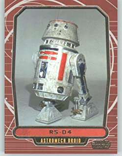 2012 Star Wars Galactic Files #116 R5-D4 (Non-Sport Collectible Trading Cards)