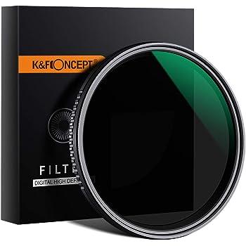 K&F Concept ND1000 - Juego Filtros ND Cuadrados de Cristal óptico ...