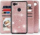 Google Pixel 3a XL Wallet Case, Miss Arts Detachable Magnetic...