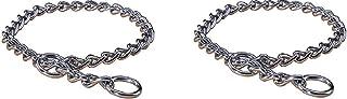 "Extra Heavy Choke Chain Dog Collar [Set of 2] Size: 22"""