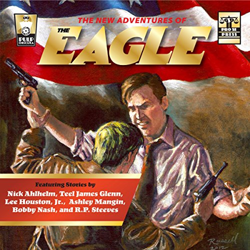 The New Adventures of The Eagle audiobook cover art