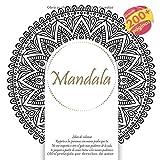 Libro de colorear Mandala - Respeta a las personas con menos poder que tu. No me importa si eres el gato mas poderoso de la sala, te juzgare a partir de como tratas a los menos poderosos.