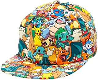 Multi Color Baseball & Snapback Hat For Boys