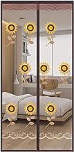 MU Zasłona drzwiowa przeciw owadom przeciw owadom, drzwi magnetyczne Sn - Utrzymuje robaki na zewnątrz - przyjazna dla zwi...
