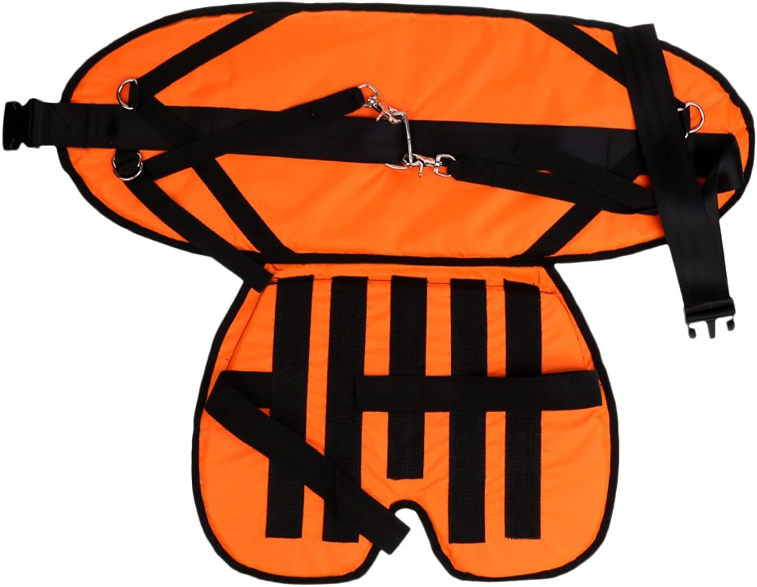 F Fityle Offshore Stand Up Fishing Fighting Belt Waist Back Fishing Harness with Seat