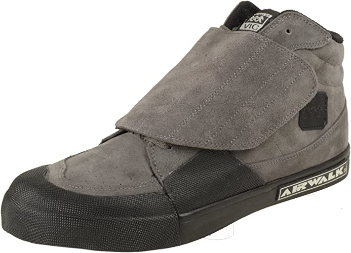 Airwalk Vic gris Suede chaussures Taille US 11,5