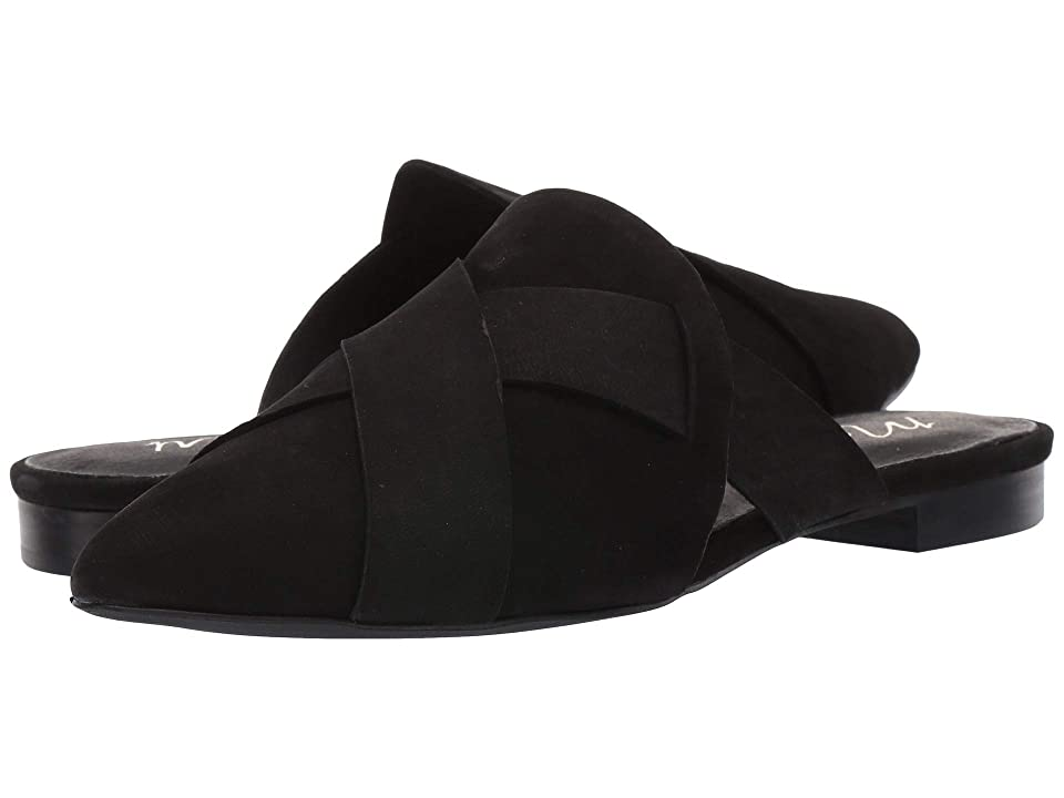 Matisse Jaclyn Slip-On Mule (Black Leather) Women