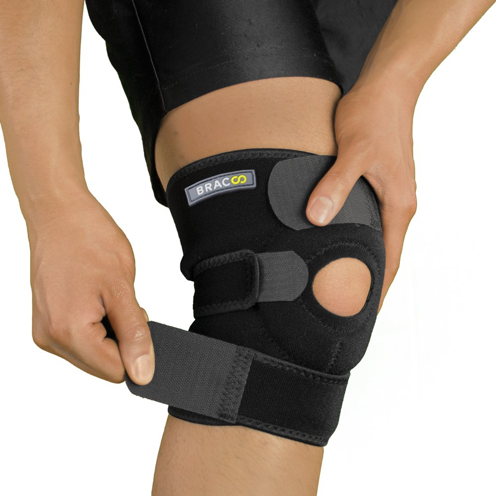 Bracoo Open Patella Arthritis Adjustable Breathable