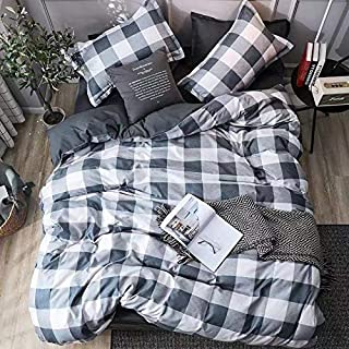 Starstorm_6 Pieces King Size Fitted Bed Sheet Set_Four Square Design (Click above on Starstorm for more designs)