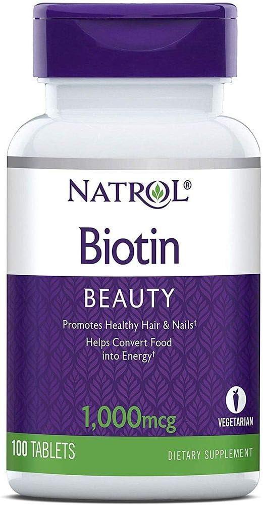 Natrol Biotin Max 65% OFF 1000 Mcg Tab 100 High quality