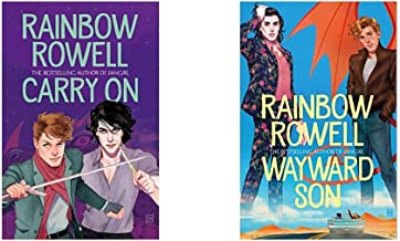 Carry On (Simon Snow 1)+Wayward Son (Set of 2 Books)