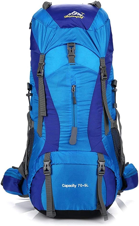 Outdoor-Sportrucksack Hohe Kapazitt Bergsteigenbeutel der Mnner im Freien, Multifunktionsrucksack-wasserdichte Bergsteigenbeutel, gro für im Freiensport, Wandern, Trekking, kampierende Reise, Bergs