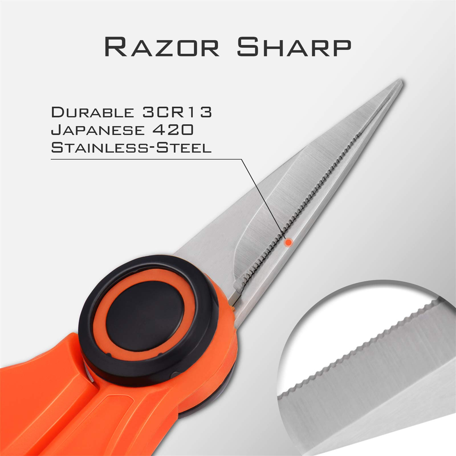Braided Line Cutters W//Sheath Kastking Fishing Line Scissors Super Sharp 3Cr1
