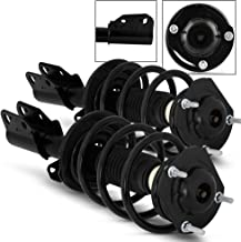 Front Complete Struts Coil Springs Assembly Replacement w/Mounts For Enclave Traverse Acadia Outloo
