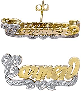 Silver N Style 10K-Lee803d 10K Yellow Gold 7/8