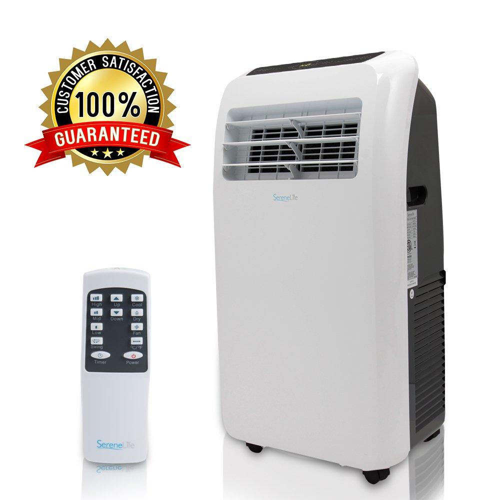 SereneLife Portable Conditioner Dehumidifier Complete