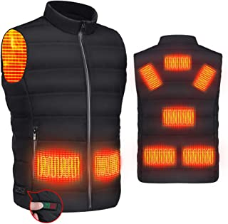 RYNX Heated Vest for Women Men,USB Charging Warming Lightweight Heated Jacket for Outdoor Activities(Not include powerbank)