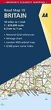 Britain Road Map (AA Road Map Britain)