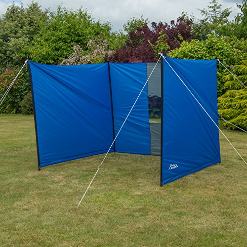 Andes Large Blue Camping Windbreak Beach Windshield Shelter With Window