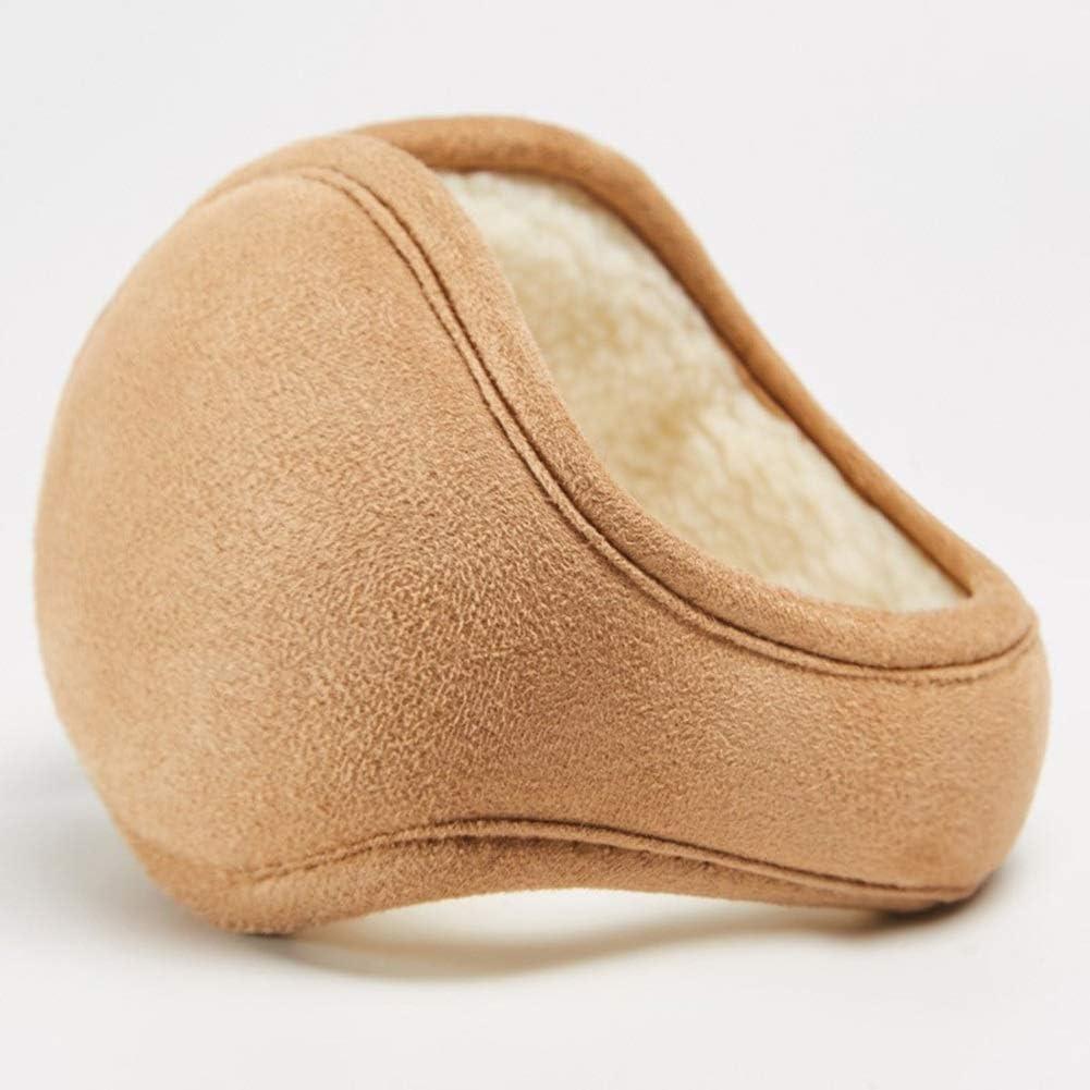 ZYXLN-Earmuffs,Plush Ear Warmer Unisex Winter Warm Earmuffs for Cold Weather Winter Outdoor Earmuffs for Running Sports Cycling Daily Wear (Color : Khaki)