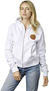NHS Santa Cruz Classic Dot Hooded Girls Zip Sweats