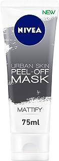 NIVEA Urban Skin Peel-Off Face Mask, Black Rice & Green Tea, Mattify, 75ml