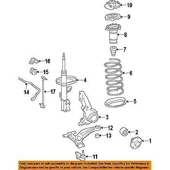 51920-S9V-A01 Shock Absorber Mount Genuine Honda