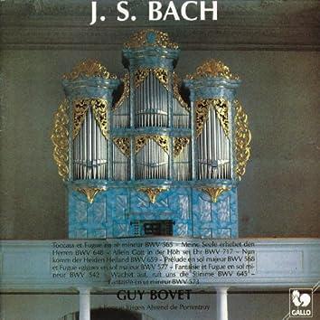 Bach: Guy Bovet à l'orgue Jürgen Ahrend de l'ancienne église des Jésuites à Porrentruy