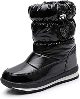 Bottes de Neige Mixte pour Hommes Femmes Enfant, Bottes Laine Imperméable Bottines Chaudes Chaussures Hiver Snow