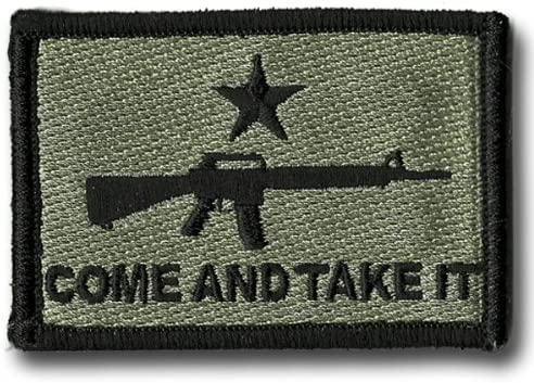 AR-15 Come and Take It Patch Excellence - Foliage Credence Tactical ACU