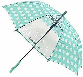 キッズ・ジュニア かわいい コインドット女児傘 55cm ジャンプ傘