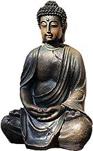 Resin Buddha Statue Meditation Peace Harmony Statue Religious Decoration Southeast Asian Style Crafts 24×20×38cm CQQO