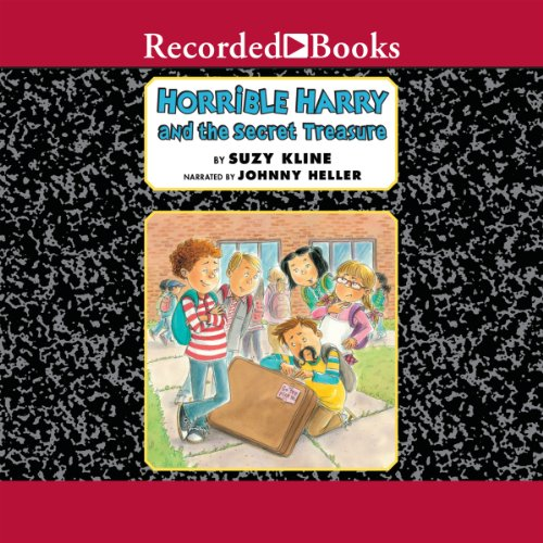 Horrible Harry and the Secret Treasure audiobook cover art