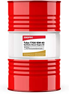 Tulux T700 15W40 CK-4 Synthetic Diesel Engine Oil - 55 Gallon Drum (1)
