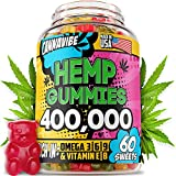 DELICIOUS GUMMIES - Our delicious & efficient hemp gummies got an upgrade! We increased our potency to 400,000 of Hemp Extract, so you could enjoy stress-free life from the first bite! Enjoy the sweet taste and mouth-watering smell while improving yo...