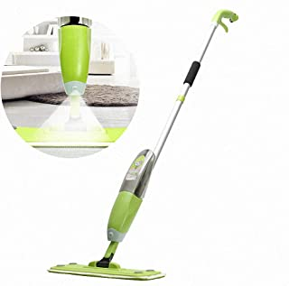 Water Spraying Floor Cleaner mop, Microfiber mop with Spray, Quiet and Powerful 500Ml Refillable Bottle, for Kitchen,Home,...