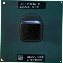 Intel Pentium Dual-Core T4300 SLGJM 2.1GHz 1MB Mobile CPU Processor Socket P 478-pin