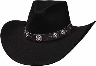 New Bullhide Nonstop Denim//Distressed Cowboy Hat