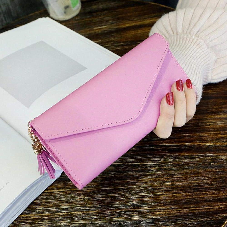 Girls Purse Women's Wallet,Woman Long Wallet Lady PU Leather Buckle Wallet (color   G)