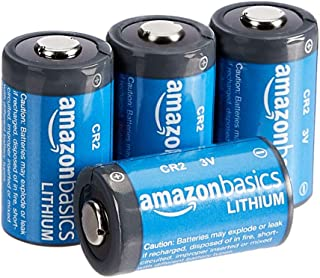 Amazon Basics Lithium CR2 3 Volt Batteries – Pack of 4