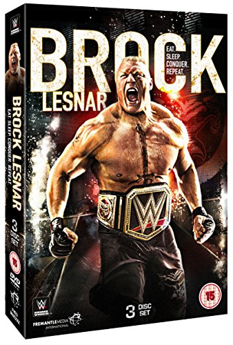 WWE: Brock Lesnar - Eat. Sleep. Conquer. Repeat. [DVD] [UK Import]
