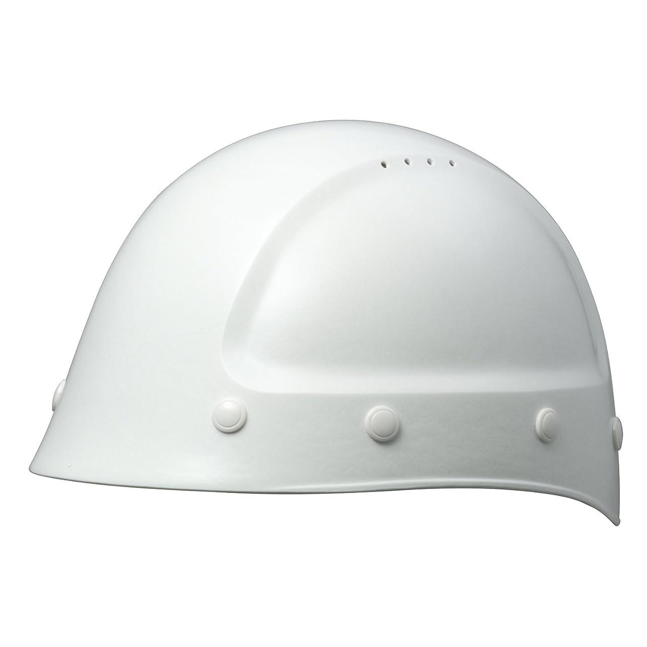 不確実暗くするアボートミドリ安全 ヘルメット 一般作業用 熱場作業用 SC-7FV KPなし ホワイト